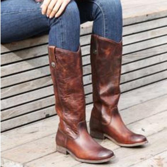 7f804bfb0ce Frye Shoes - NWOT Frye Melissa Button Cognac Boots